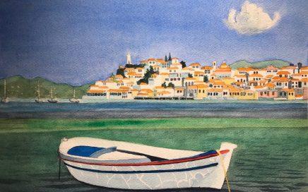 White Boat, Red Trim: Tim Barraud