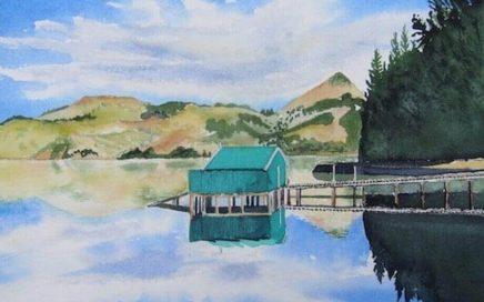 Blue Shed Reflection: Tim Barraud