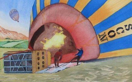 Hot Air Balloon, Cappadocia: Tim Barraud