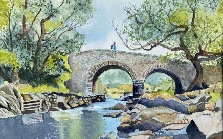 Bridge Painting V: Tim Barraud