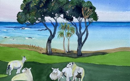 Shorn Sheep, Glenburn: Tim Barraud