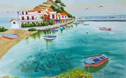 Mediterranean Idyll: Tim Barraud