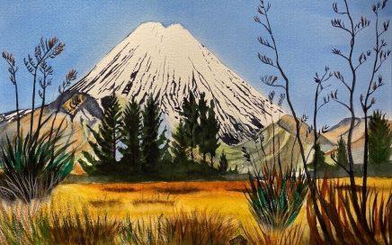 Mount Egmont: Tim Barraud
