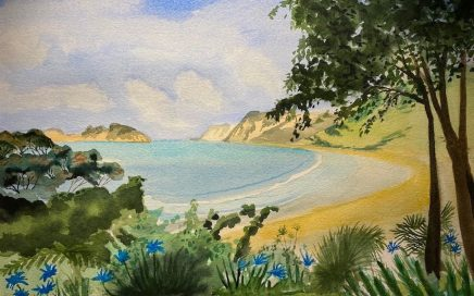 Anaura Beach: Tim Barraud