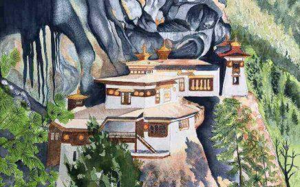 Tigers Nest, Bhutan: Tim Barraud