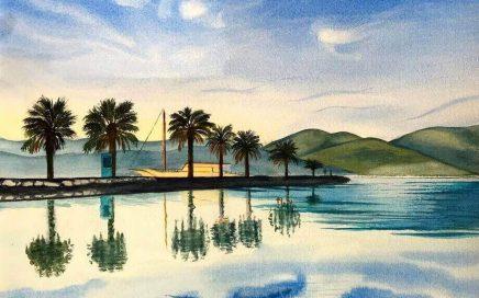 Pier and Palms: Tim Barraud