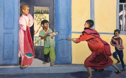 Kids Playing, Tibet: Tim Barraud