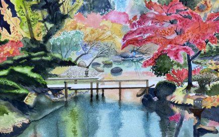 Japanese Gardens, Portland I: Tim Barraud