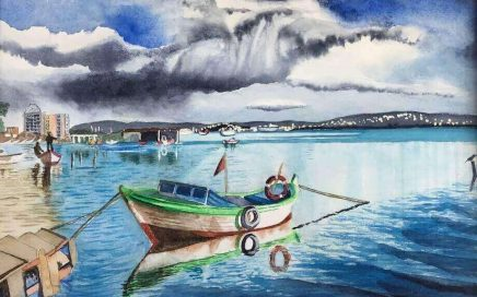 Boat and Sky, Istanbul: Tim Barraud