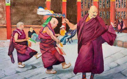 Monks Dancing: Tim Barraud