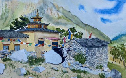 Tibetan Gompa, Nepal: Tim Barraud