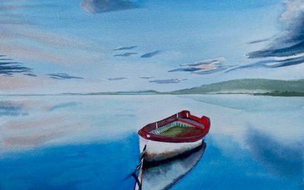 Boat at Anchor: Tim Barraud